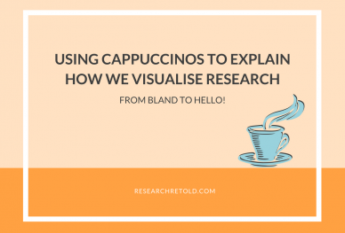 Using Cappuccinos to explain how we visualise research