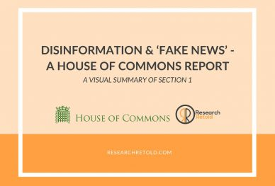 Section 1 - Digital, Culture, Media and Sport Committee Disinformation and 'fake news' Report