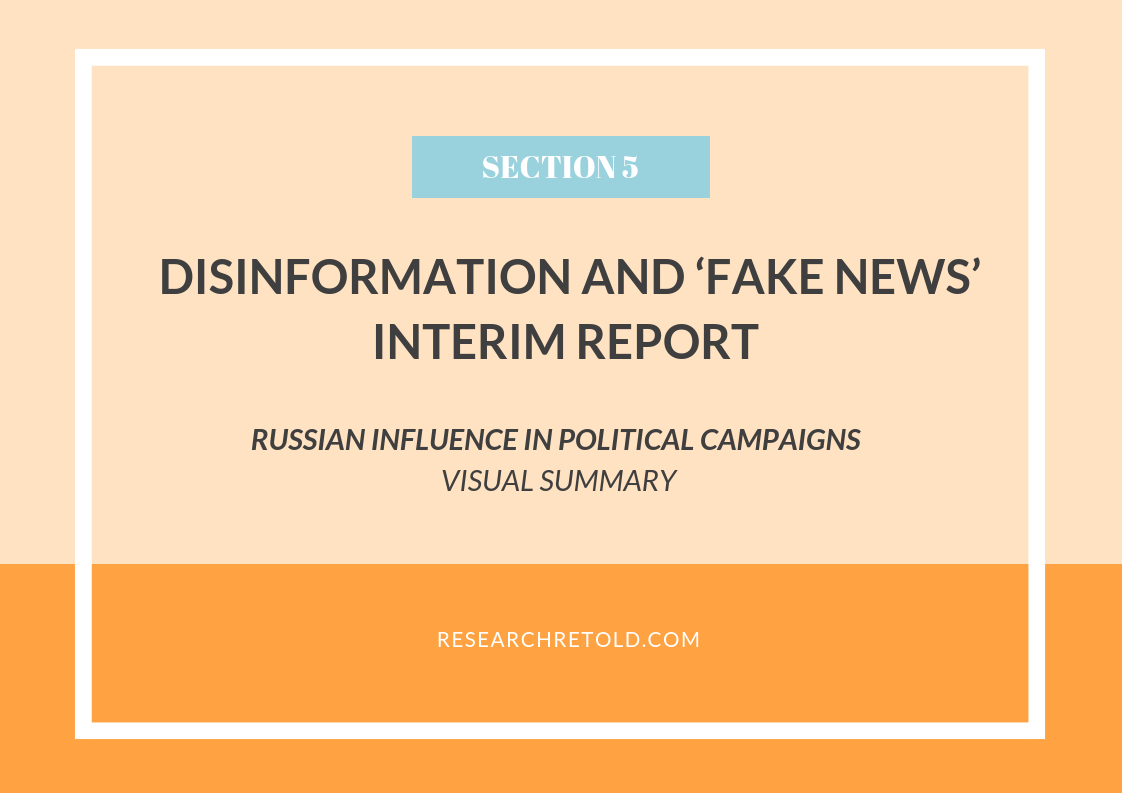 Political Disinformation And How It >> Russian Influence In Political Campaigns Disinformation And Fake