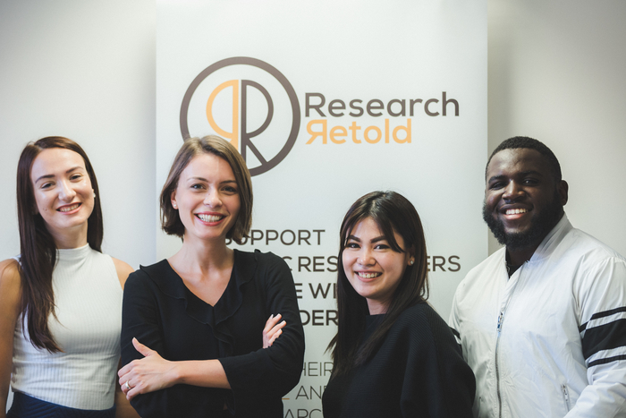 Interns at research retold 5