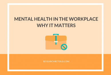 Mental Health in the Workplace Why it Matters Research Retold Blog Cover Image