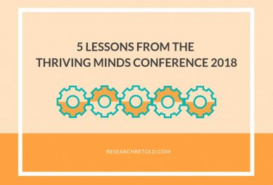 5 Lessons from the Thriving Minds conference 2018