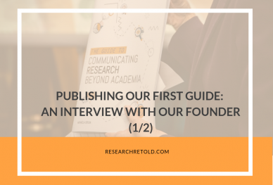 Publishing our first guide: an interview with our founder, Mihaela Gruia
