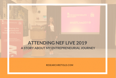 NEF Live 2019 - New Entrepreneurs Foundation - Research Retold