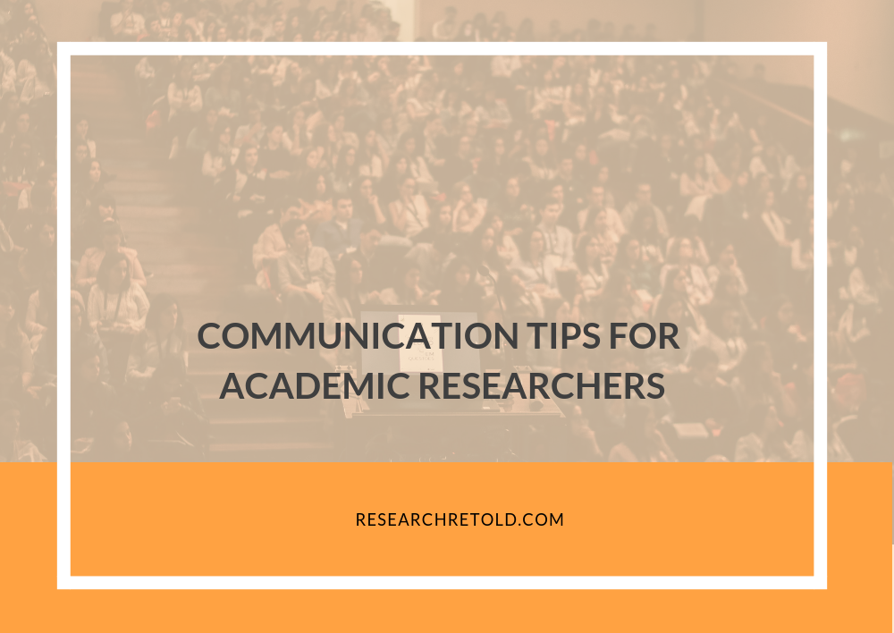 Tips for communicating research