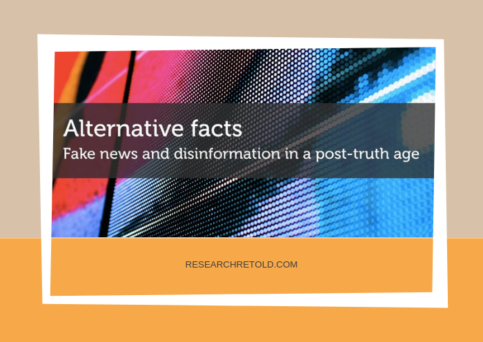 Fake news and disinformation event