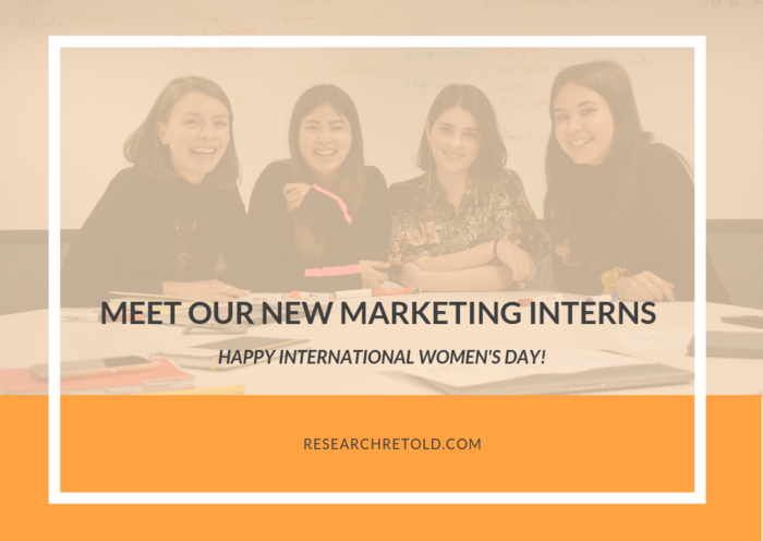 Meet our new marketing interns Research Retold