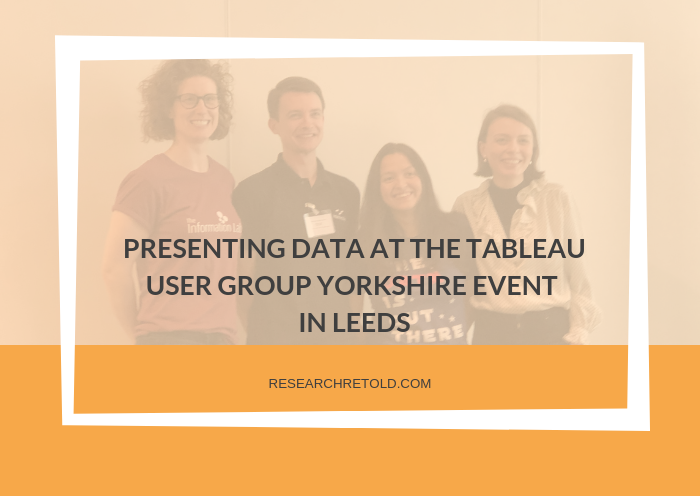 Tableau User Group Yorkshire event in Leeds