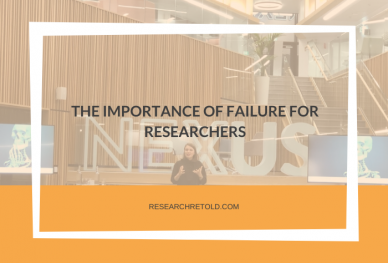The importance of failure for researchers- NEXUS