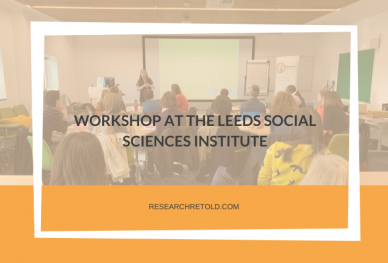 Workshop at the Leeds Social Sciences Institute