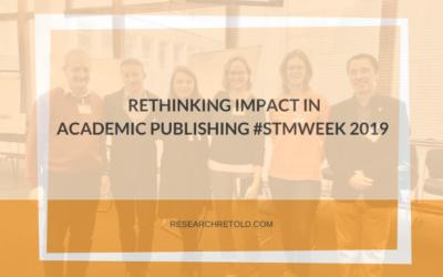 Rethinking impact in academic publishing #STMWeek 2019