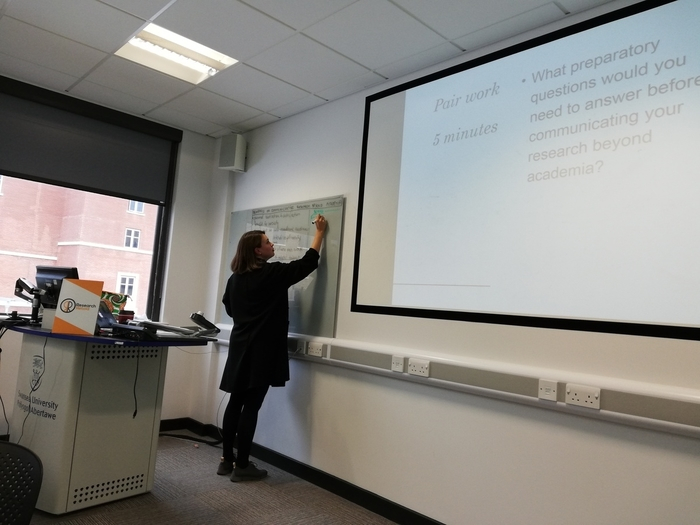 research seminar series at Swansea University