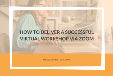 How to deliver a successful virtual workshop on Zoom Cover