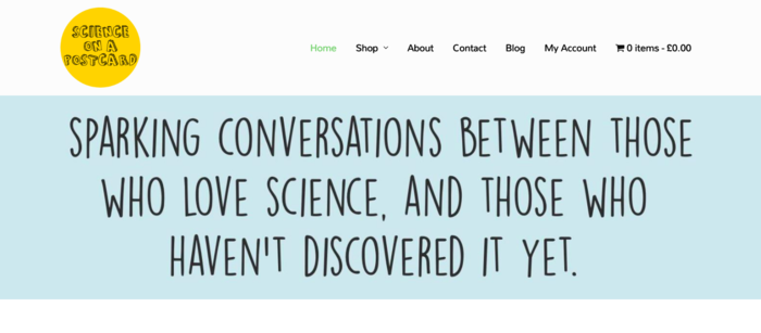 Interview with Heidi Gardner Science on a Postcard