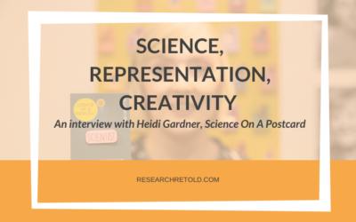 Increasing representation in science through creativity – Heidi Gardner