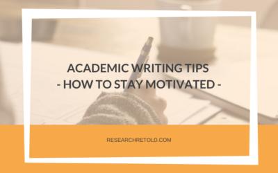Academic writing tips to write longer and be productive