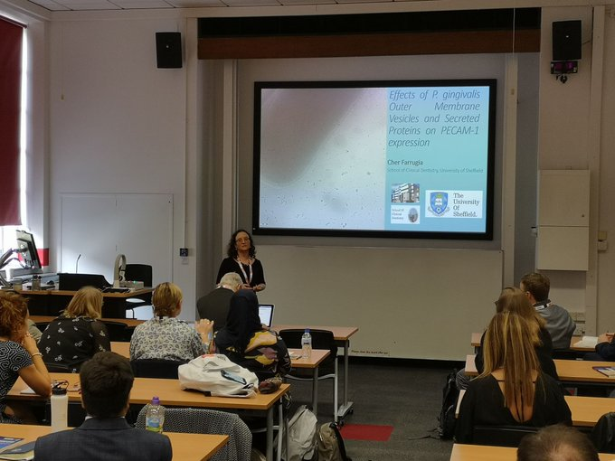 Cher Farrugia British Society of Dental and oral research conference 2019