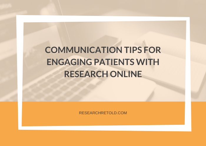 Virtual Action Mesothelioma Day Communication tips for engaging patients with research online