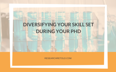 Diversifying your skill set during your PhD