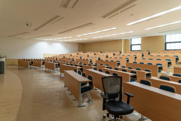Empty university