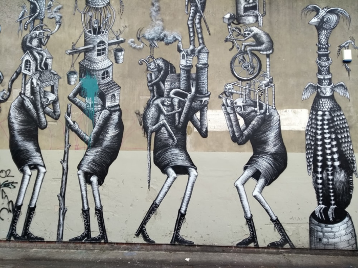 Street Murals Phlegm