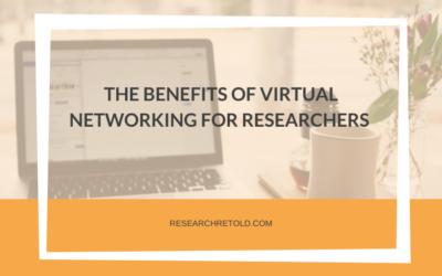The benefits of virtual networking for researchers