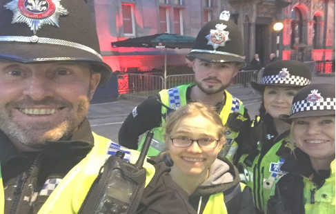 Inclusive science communication - lessons learned from police officers