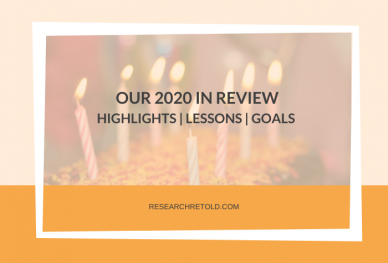 Our 2020 in review Research Retold