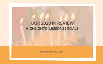 Our review of 2020