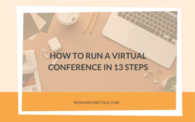 How to run a virtual conference in 13 steps