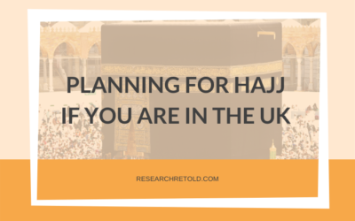 Planning for Hajj if you are in the UK