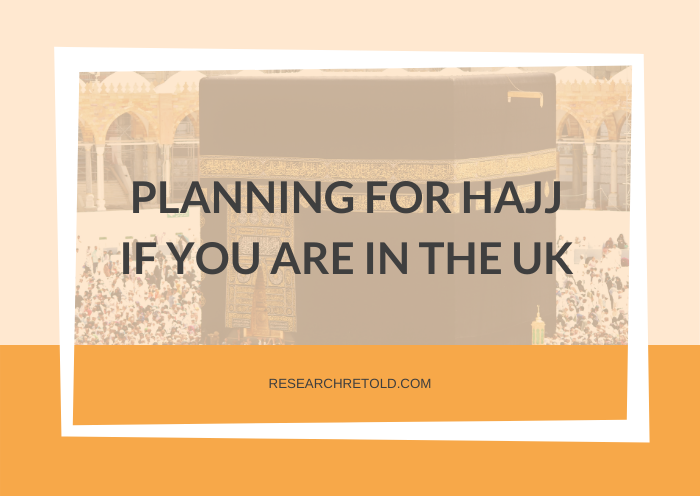 Planning Hajj from UK- featured image