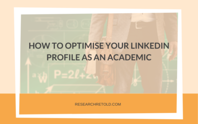 How to optimise your LinkedIn profile as an academic