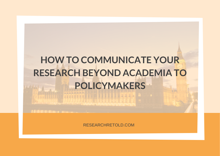 How to communicate research to policymakers: workshop insights