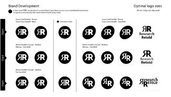 Branding development (stage 1)