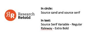 Branding development (stage 3)
