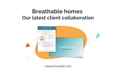 Breathable homes – Our latest client collaboration