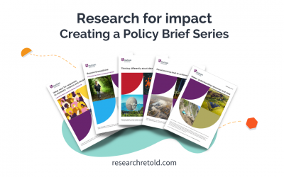 Research for impact – Creating a policy brief series